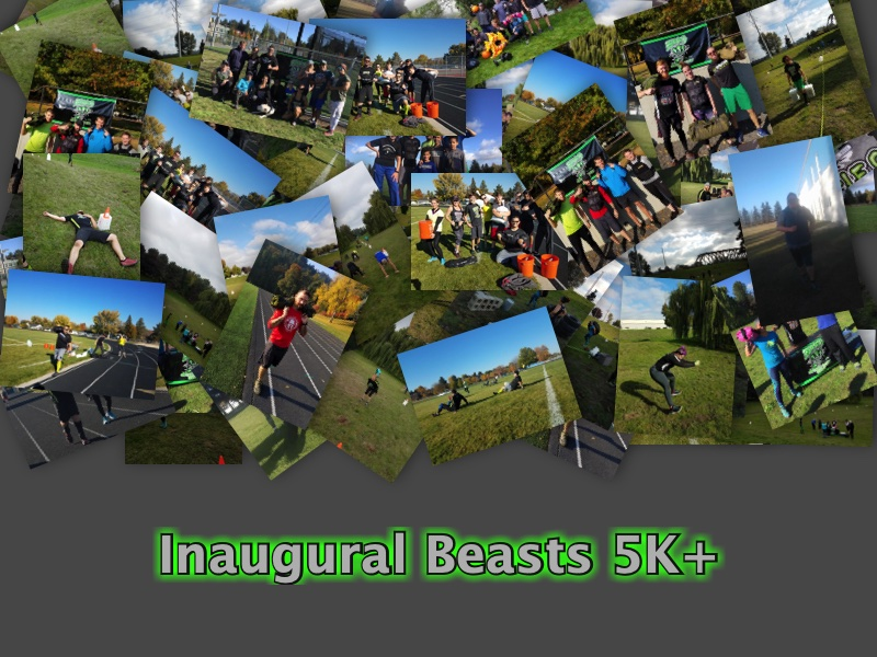 Photo's from the Inaugural 2018 Beasts 5K+ event